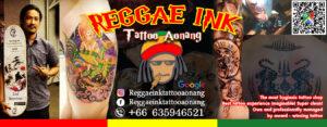 เร้กเก้ อิง แทททู อ่าวนาง Reggae Ink Tattoo Aonang